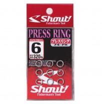Shout Press Ring Halka