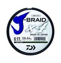 Daiwa J-Braid 4B Koyu Yeşil 135m İp Misina