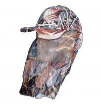 Remixon Tül Sazlık Desenli Şapka