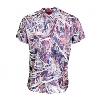 Remixon Quick Dry Sazlık Desenli T-Shirt